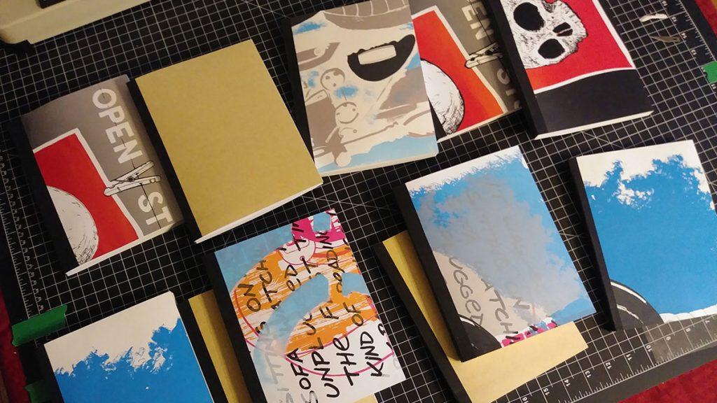Handmade notebooks