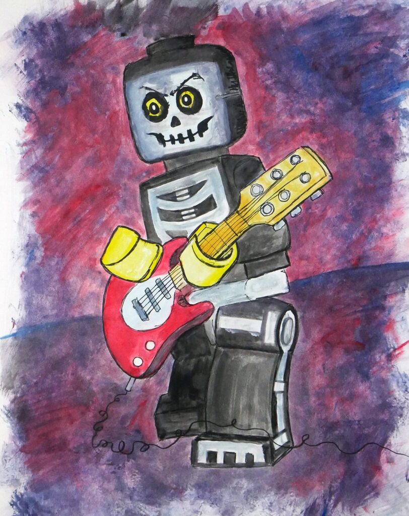 Lego Musician